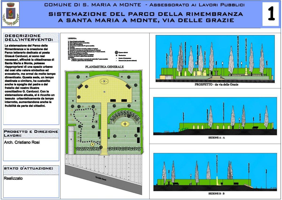 Parco della Rimembranza e Parco Letterario